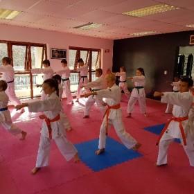 grading Samurai karate hout bay