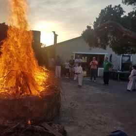 Bonfire Spring Gashuku